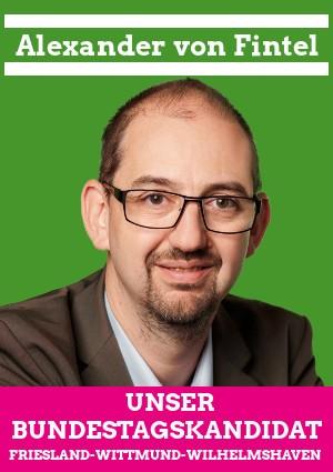 Bundestagskandidat Alex v. Fintel
