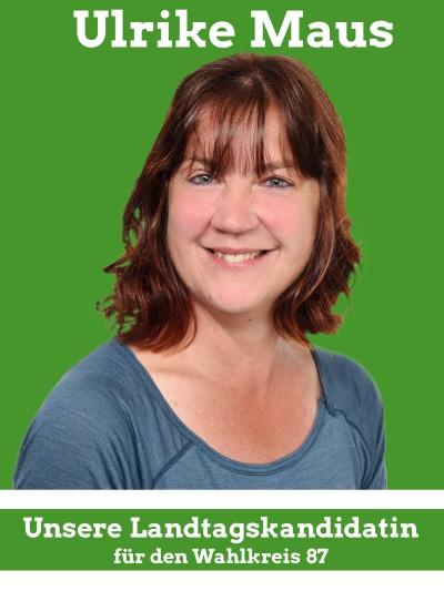 Landtagskandidatin Ulrike Maus