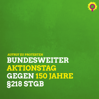 Aktionstag gegen Paragraf 218