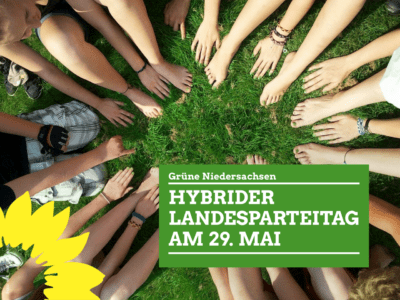 Hybrider Landesparteitag am 29. Mai