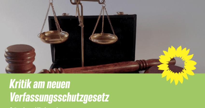 Kritik an Neufassung des Verfassungsschutzgesetz