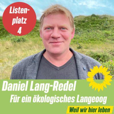 Listenplatz 4 OV Langeoog: Daniel Lang-Redel