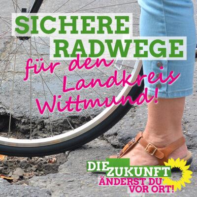 Sichere Radwege für den LK Wittmund