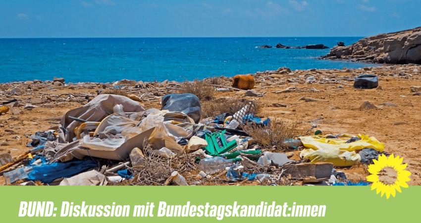 Diskussion mit Bundestagskandiat:innen vom BUND