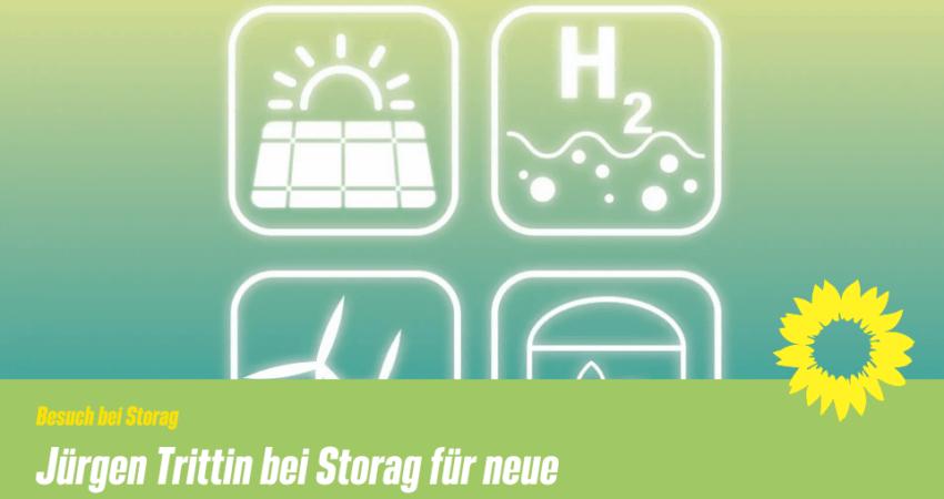 Jürgen Trittin zu Besuch bei Storag