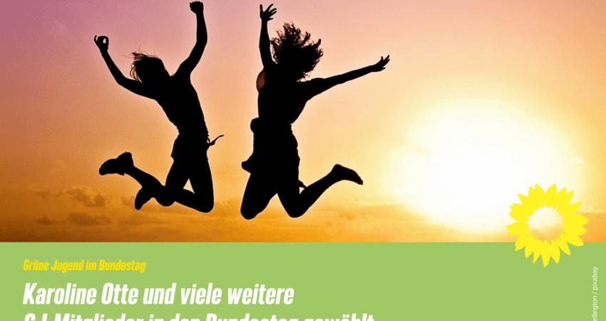 Grüne Jugend vielfach in den Bundestag gewählt