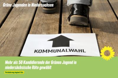 Mehr als 50 Kandidierende der Grünen Jugend in niedersächsische Räte gewählt