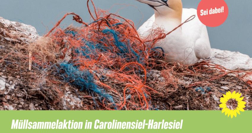 Müllsammelaktion Carolinensiel-Harlesiel
